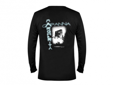 Long sleeves T-shirt man black – Margherita Hut