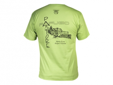 Short sleeves T-shirt woman green – Pastore Hut