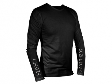 Long sleeves T-shirt man black – Pastore Hut