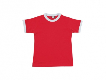 Short sleeves T-shirt baby red – Gnifetti Hut